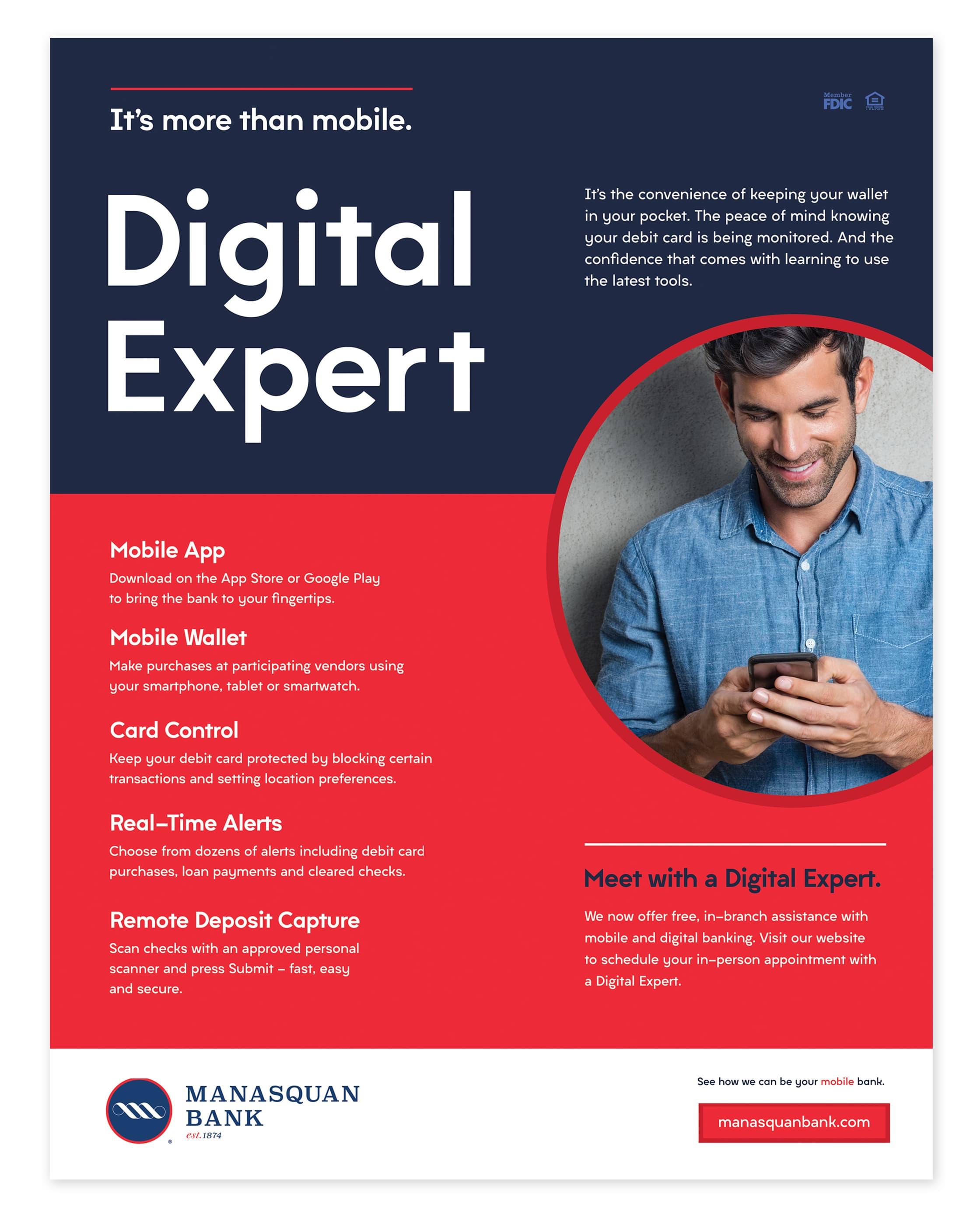 Manasquan Bank Digital Expert Ad