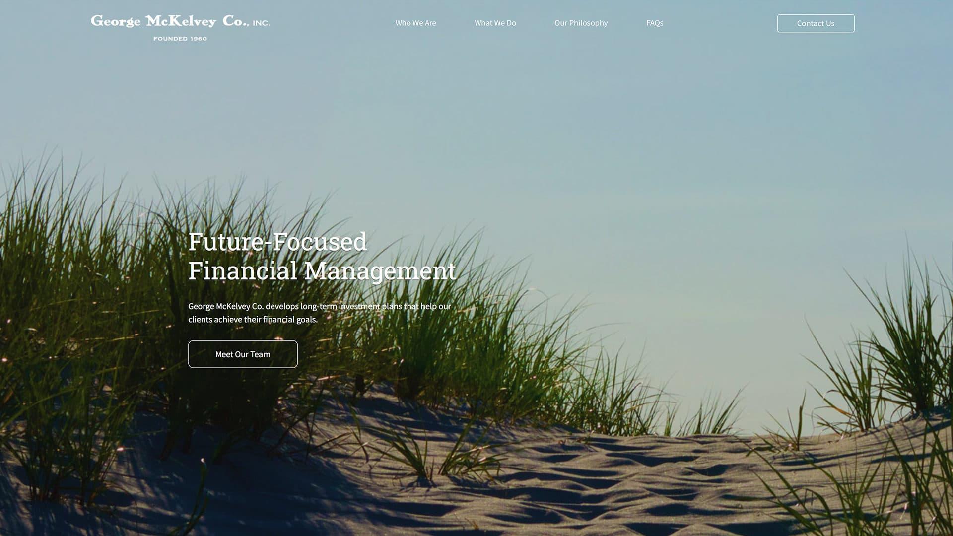 George McKelvey Web Design