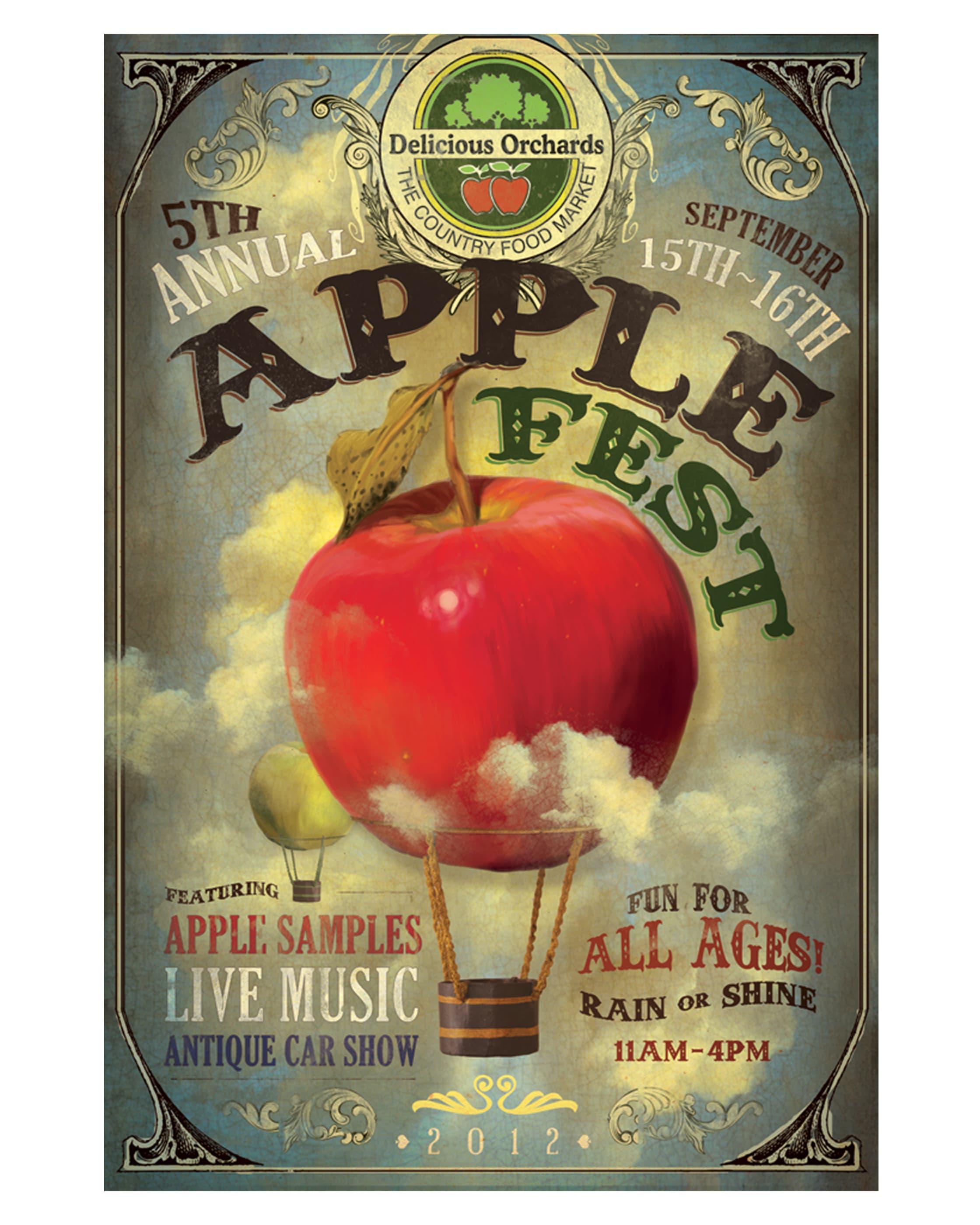 Applefest Poster 2012