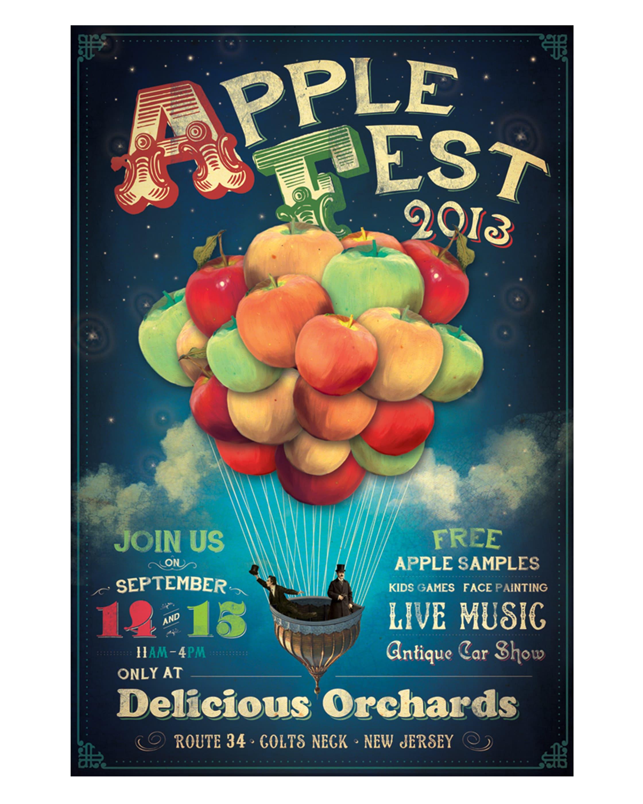 Applefest Poster 2013