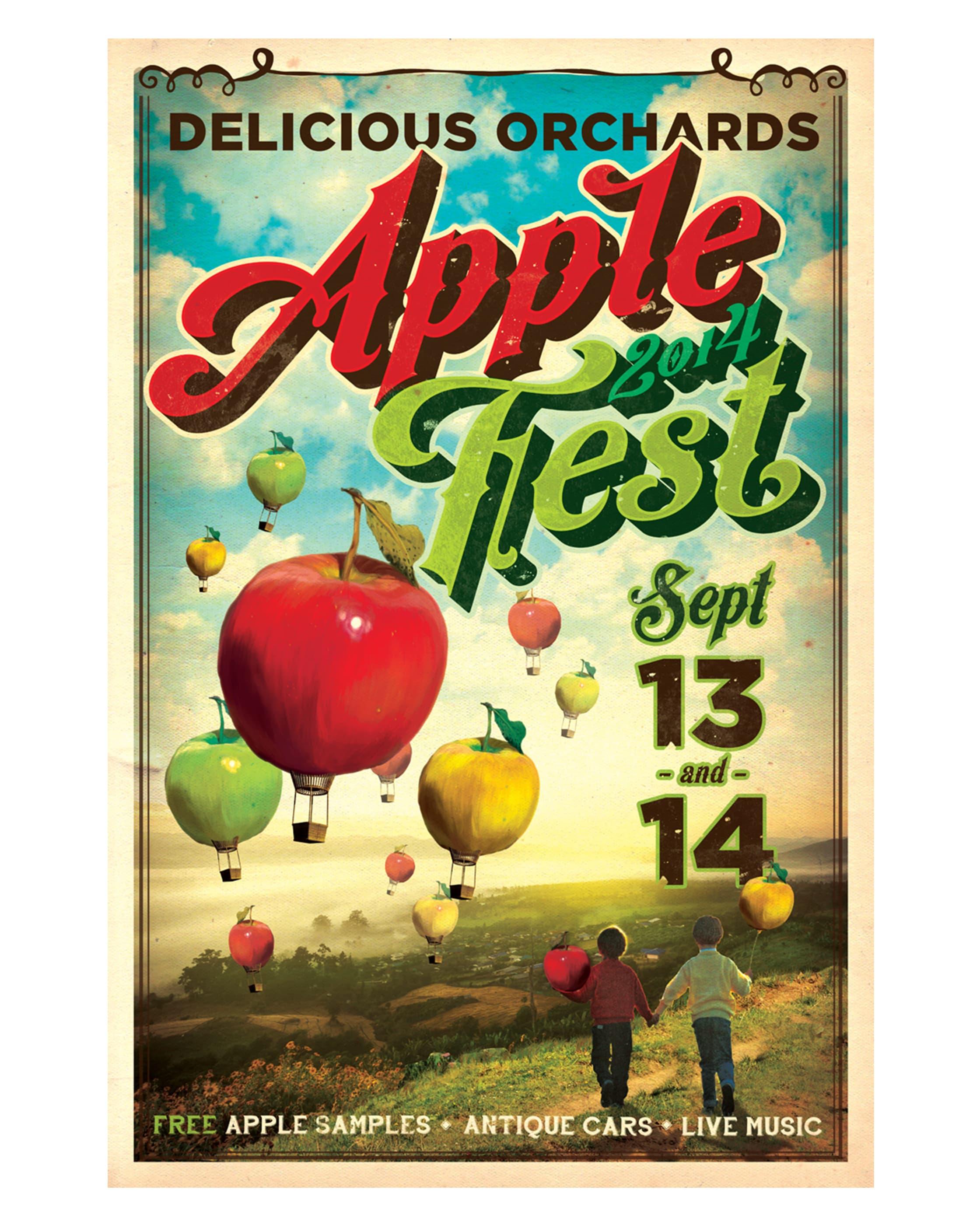 Applefest Poster 2014