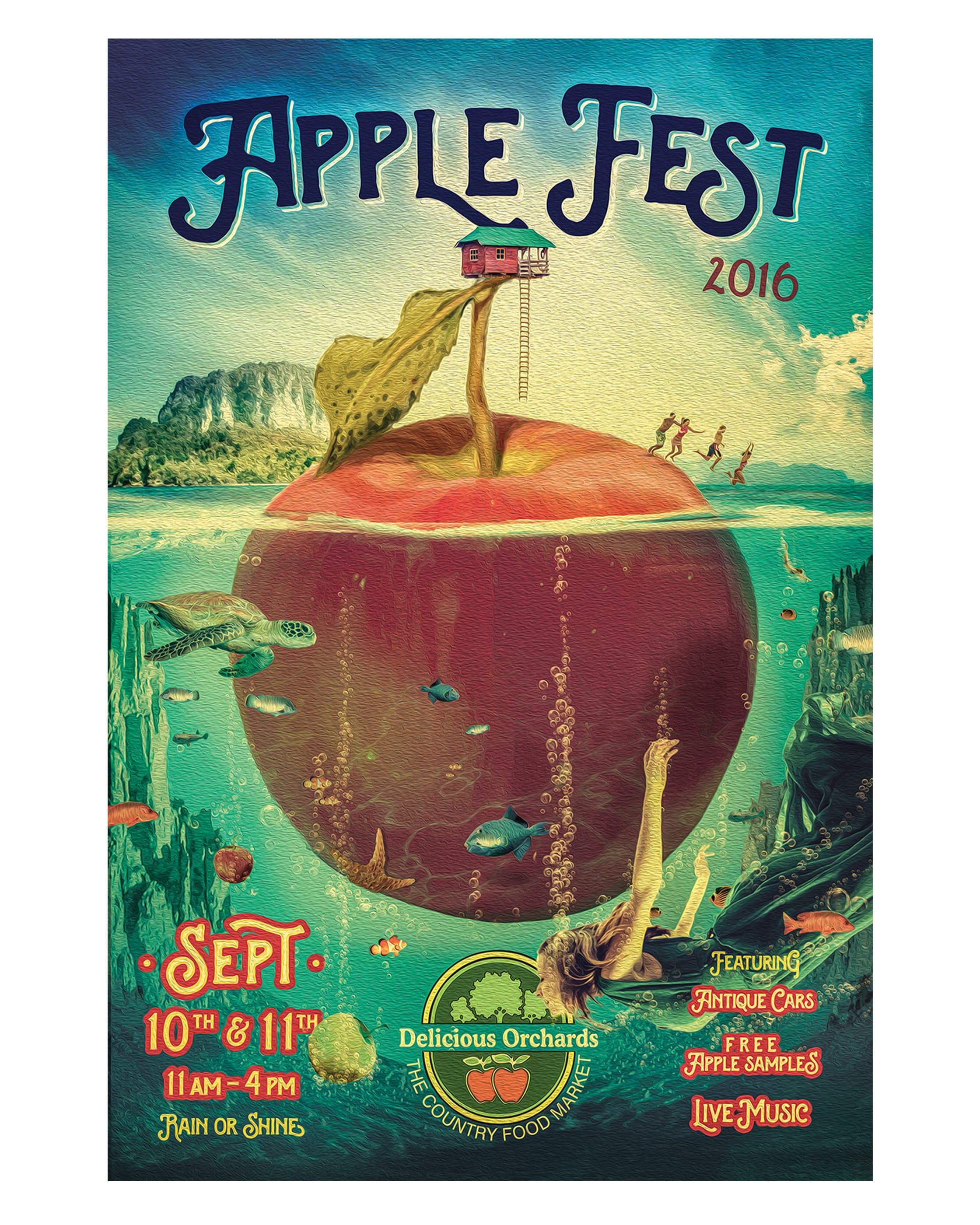 Applefest Poster 2016