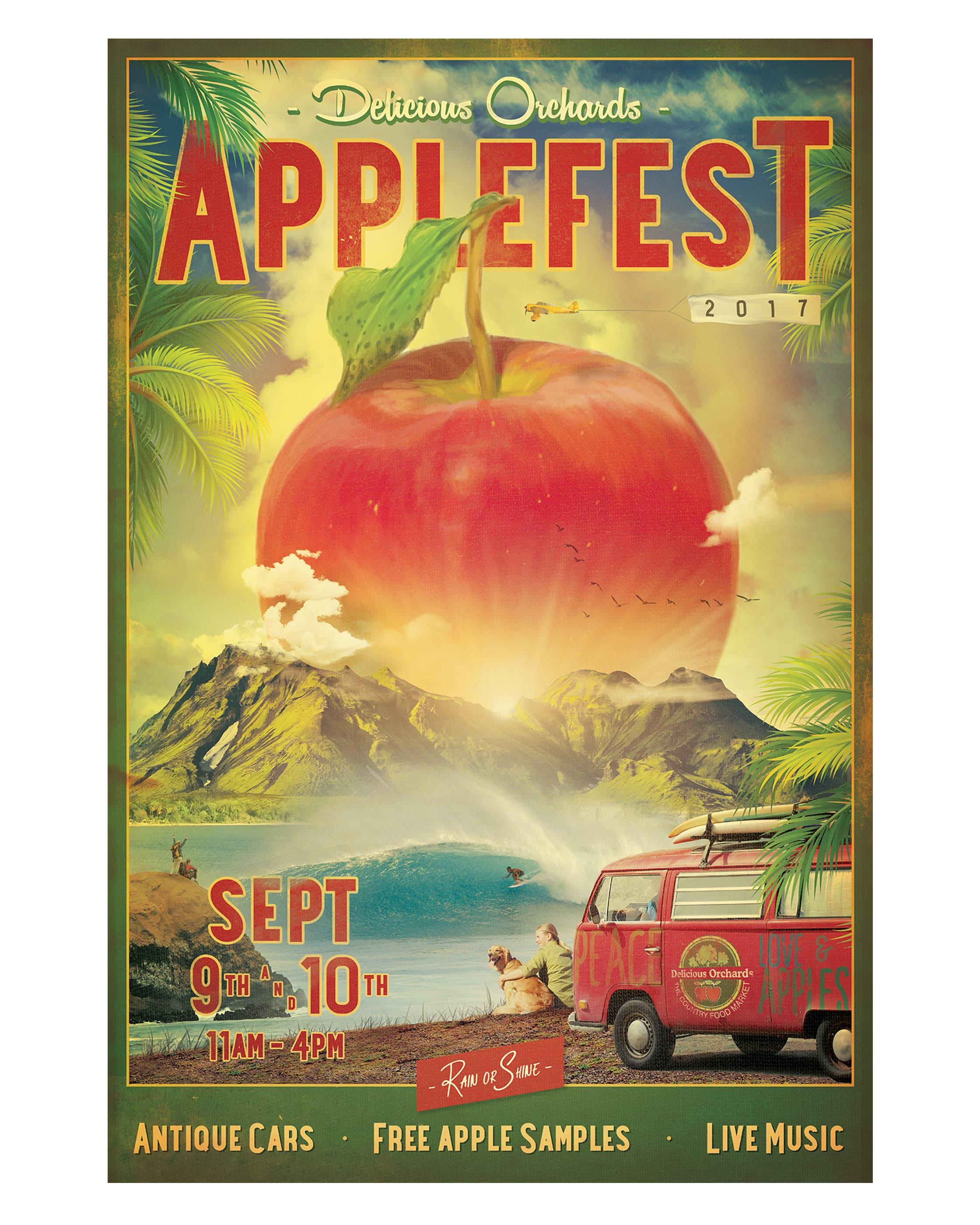 Applefest Poster 2017