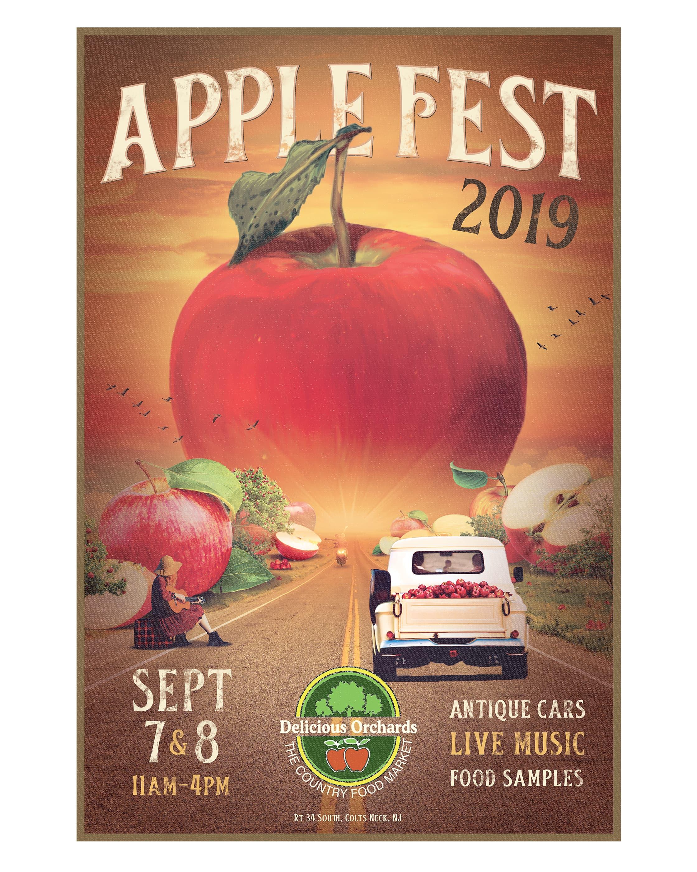 Applefest Poster 2019