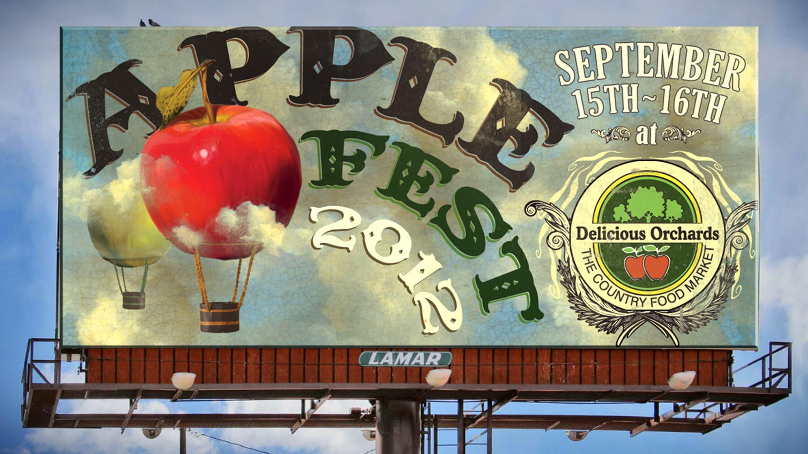Applefest Billboard