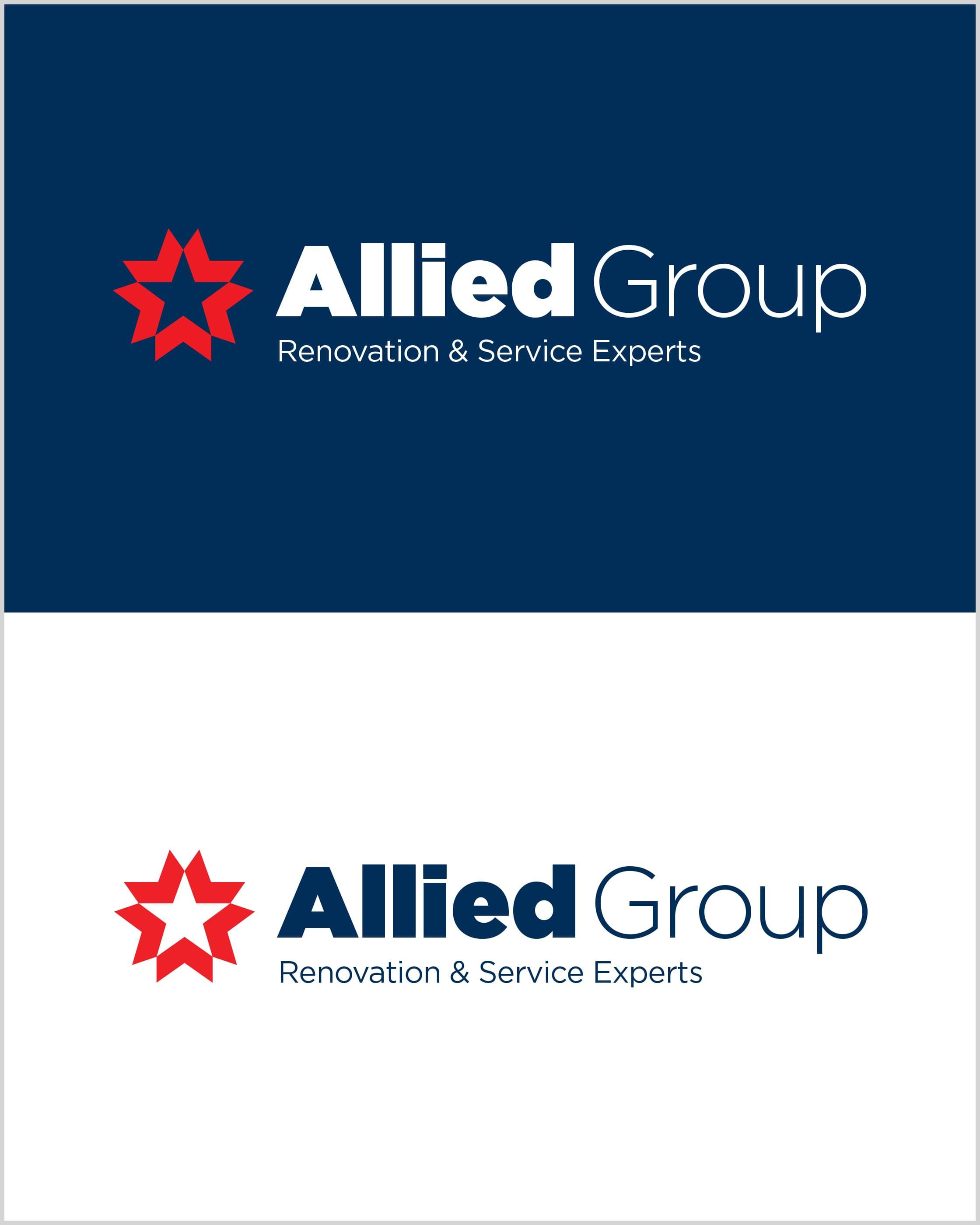 Allied Group Horizontal Logos