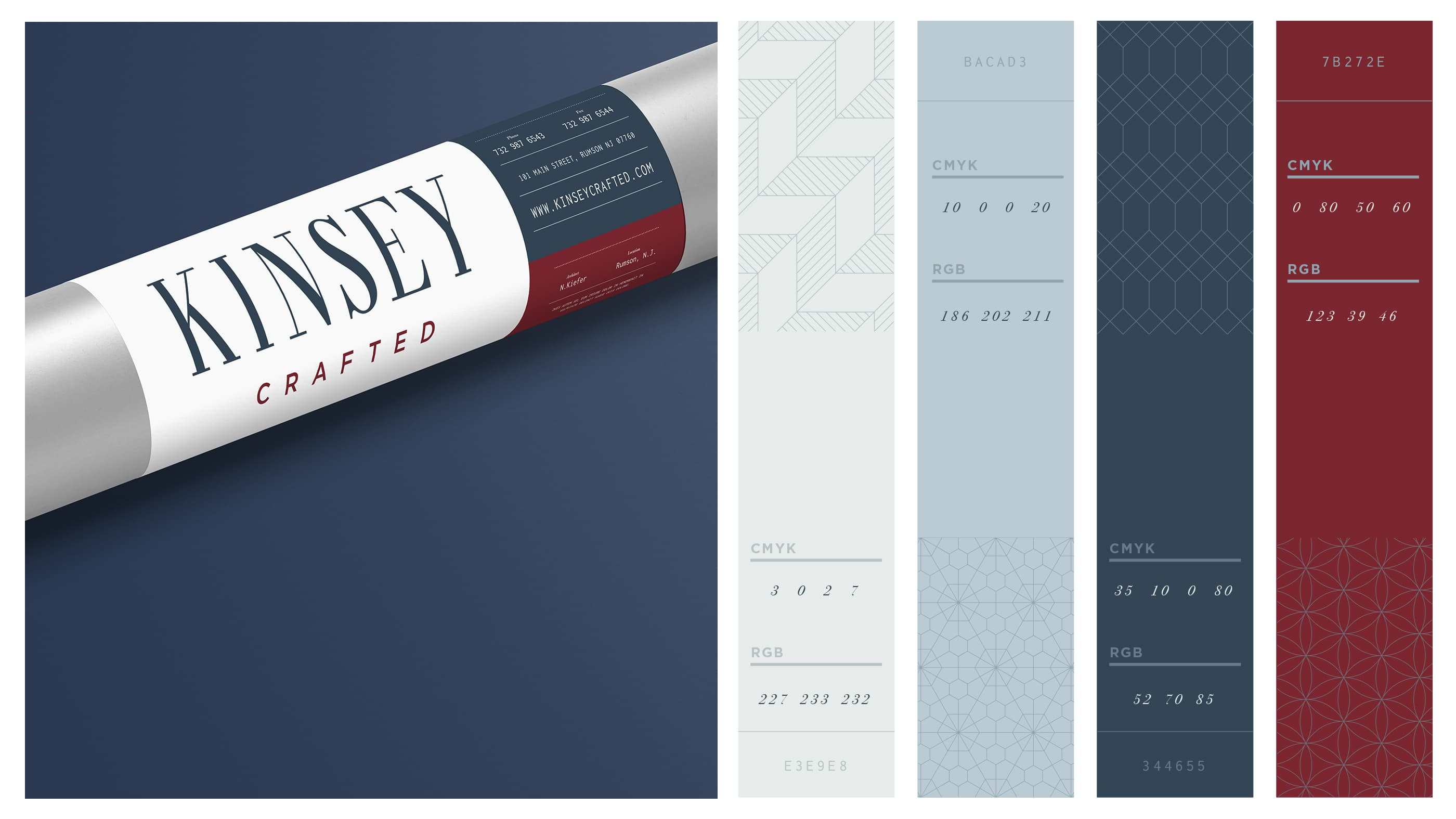 Kinsey Crafted Colors and Textures