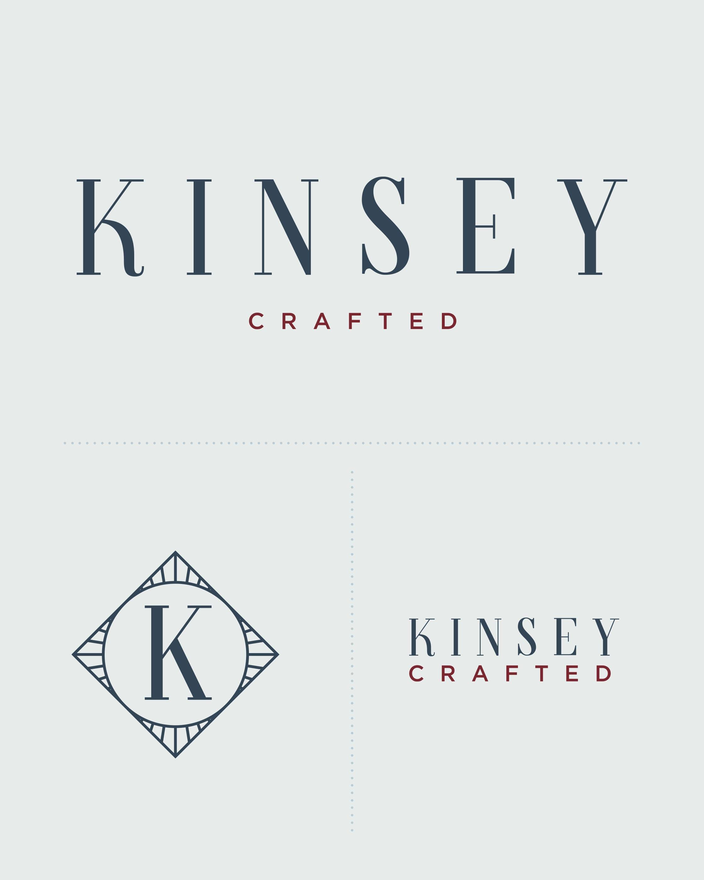 Kinsey Logo Detail