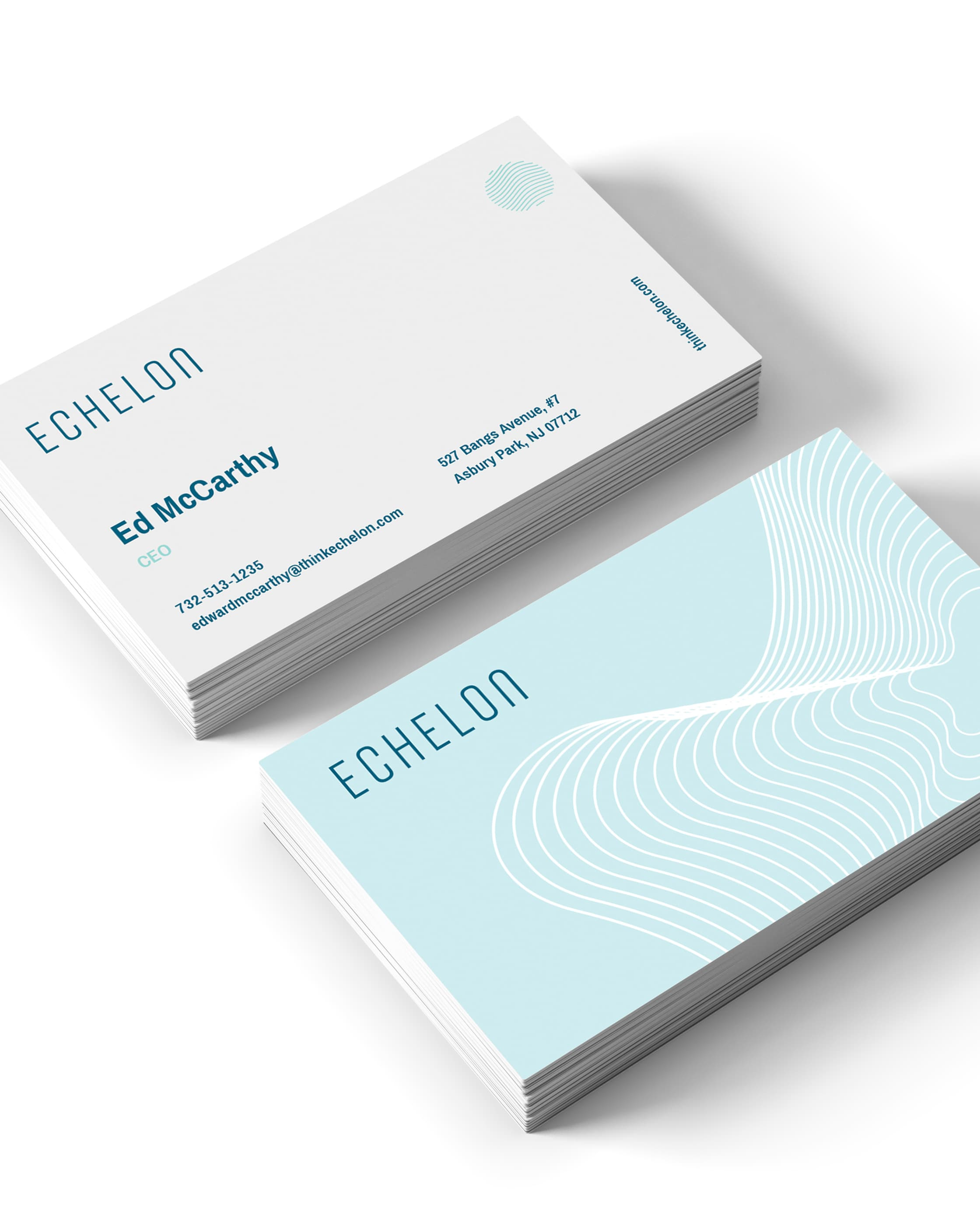 Echelon business cards