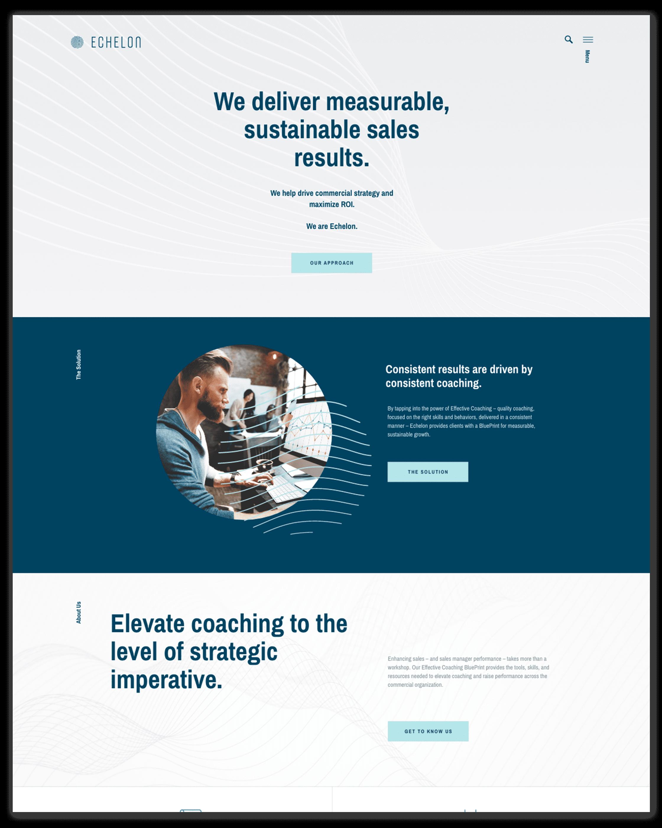 Echelon Home Page