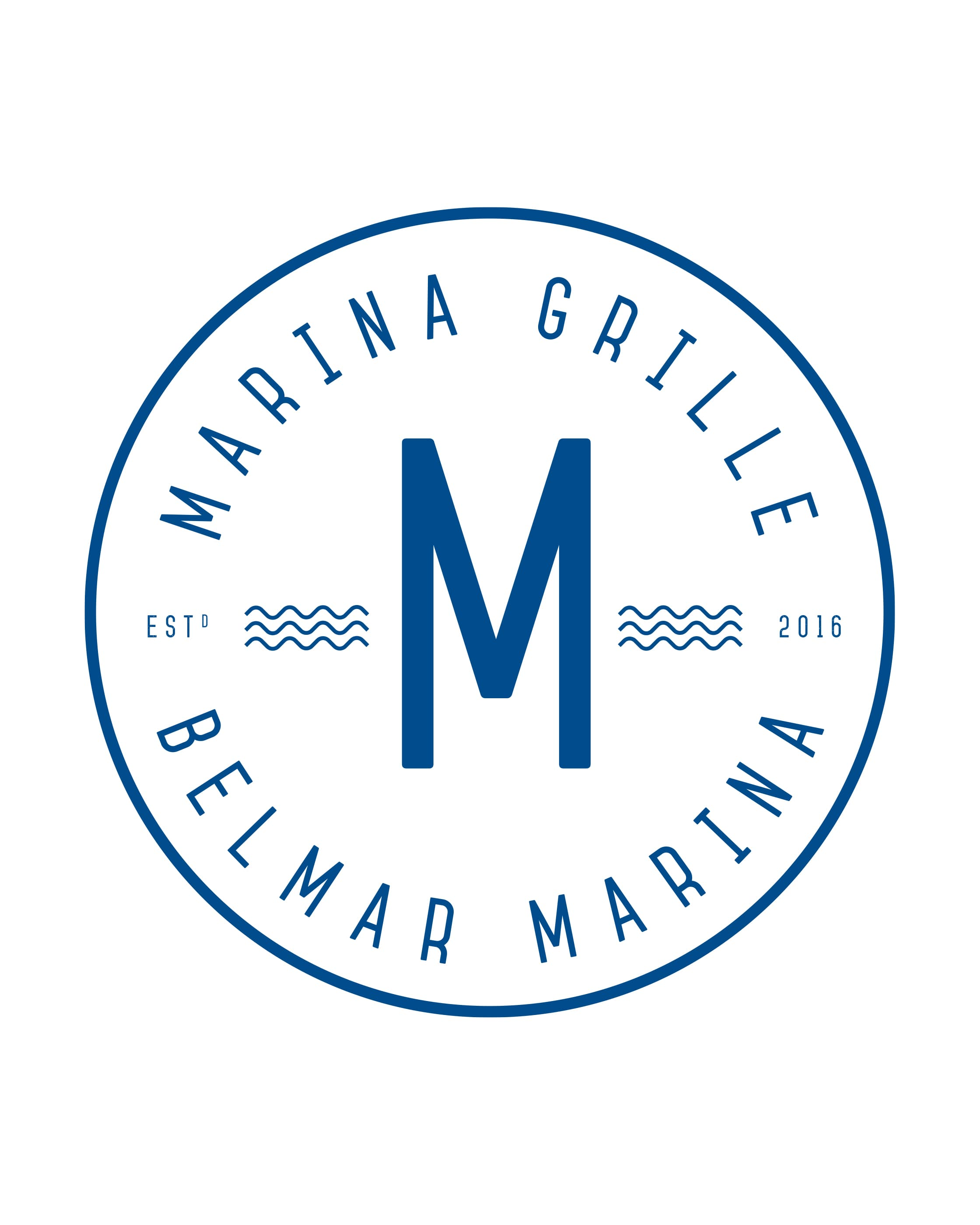 Marina Grille Badge Logo