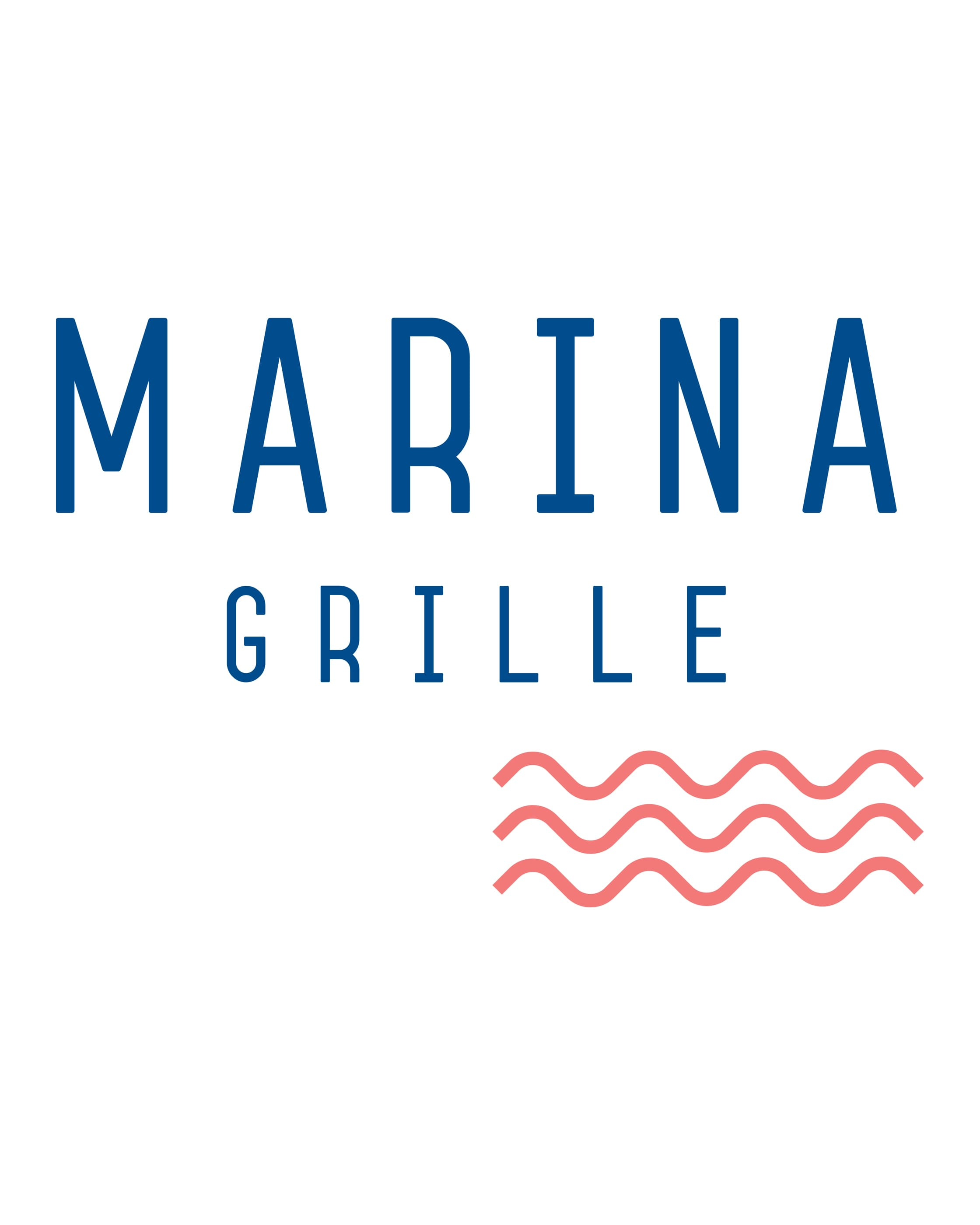 Marina Grille Logo on white